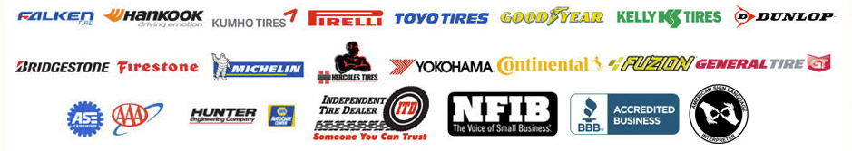 Tire Brands in Hazelwood, MO